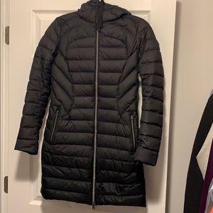 Lululemon Black Puffer Bubble Jacket Coat